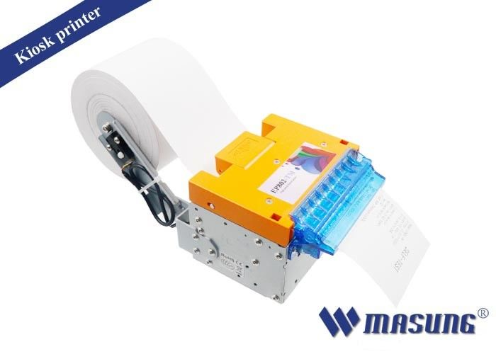 Auto cutting 3 inch thermal receipt printers , portable thermal printer for queue up